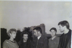 Snapper-with-Beth-Orton-and-Alan-Riding-forst-ever-press-shot..Hammersmith-1994_